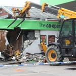 Police Appeal After Cash Machine Stolen Using A JCB
