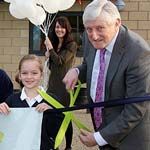 Pupils Celebrate New Chesterfield School's Opening