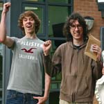 The Future's Bright as Chesterfields students receive their A level results today