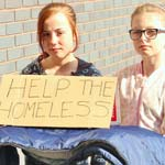 Pupils & Staff Bed Down Outdoors After Homeless Plight Shock
