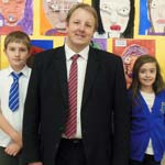 Old Hall School Grilling For Chesterfield MP Toby Perkins