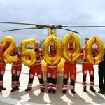 DLRAA Air Ambulance Completes 25,000 Missions