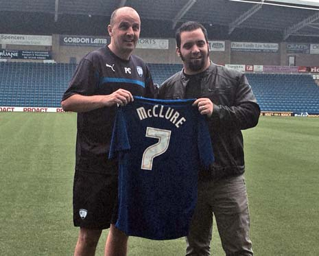 After meeting manager Paul Cook, and being presented with a personalised shirt, Jesse McClure took time out to speak with The Chesterfield Post