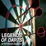 Darts Legends 'Double Up' At Chesterfield FC. WIN 2 TICKETS!