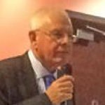 We're Human! We're Doing Our Best! Chesterfield FC Chairman Mike Warner at Thursday's Q and A session at the Proact