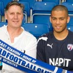 Double Swoop For Spireites with Aaron Chapman and Eric Nixon arriving at the Proact