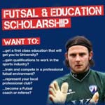 Futsal And Education Scholarship