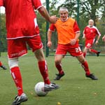 You're Never Too Old To Play Football!