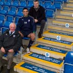 Trio Given Branded Steps At The Proact Stadium