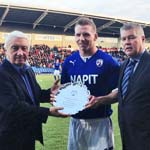 Banks Opens Account For Spireites Against Wycombe