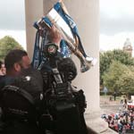Spireites Show Off The Silverware In Town Parade