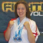 Shirebrook Student Kick Boxes Her Way To Two Gold Medals