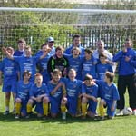 Local U12 Football Team Celebrate Successful Season