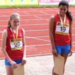 Young Derbyshire Athletes Hurdle To Success