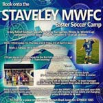 Easter Soccer Camp Competition At Staveley MWFC